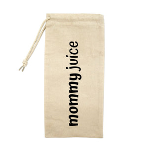 Mommy Juice Drawstring Wine Tote