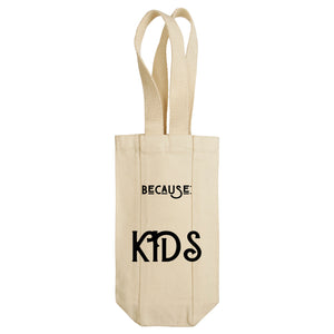 Because: Kids Wine Tote with Handles