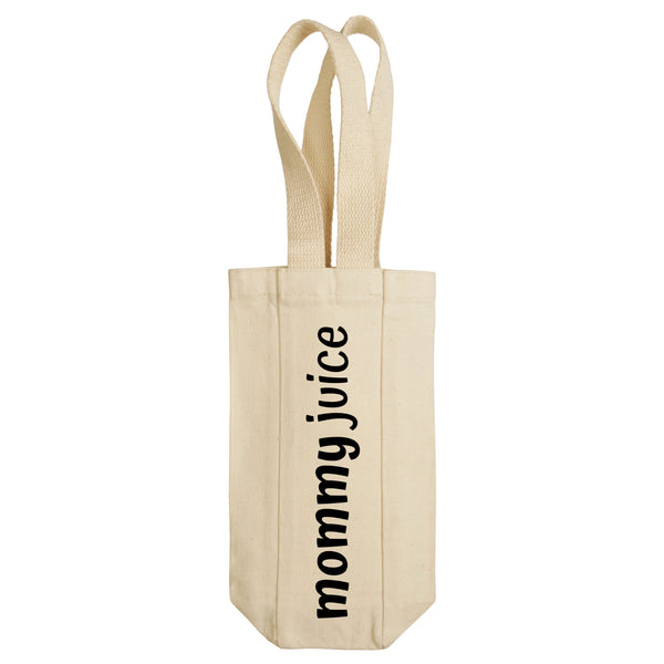 Mommy Juice Wine Tote with Handles