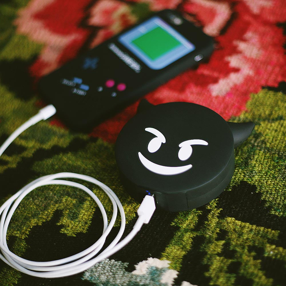 BLACK DEVIL CHARGER | CREEP STREET COLLAB POWER BANK