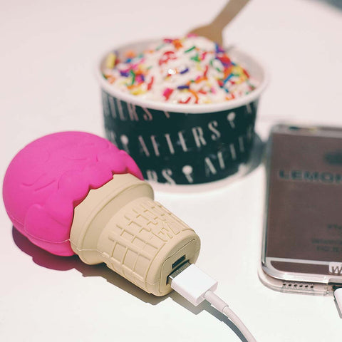 CREAMY CHARGER | ICE CREAM CONE POWER BANK
