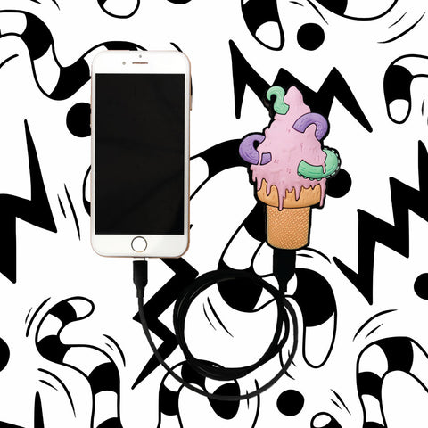OCTOPUS ICE CREAM CHARGER | DISTORTEDD COLLAB POWER BANK