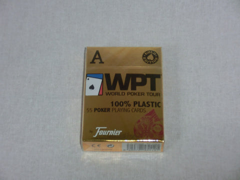 Fournier WPT Gold Edition 100% Plastic Jumbo index 2