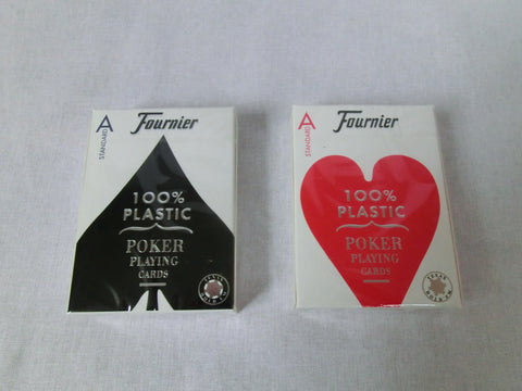 Fournier Nº 2508 Poker Size Standard index 4