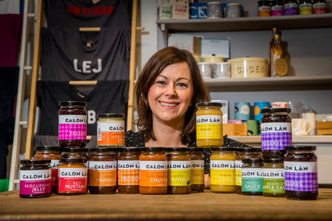 Calon Lan sauces chutneys preserves