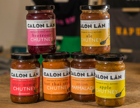 Welsh chutneys