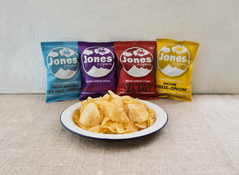 Welsh Crisps Jones