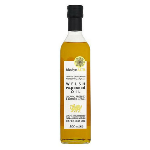 Blodyn Aur Welsh Rapeseed Oil 6x500ml