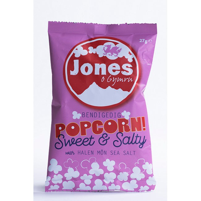 Jones Popcorn Sweet & Salty 28x27g