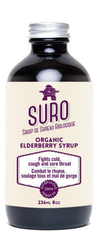 Suro Organic Elderberry syrup 236 ml