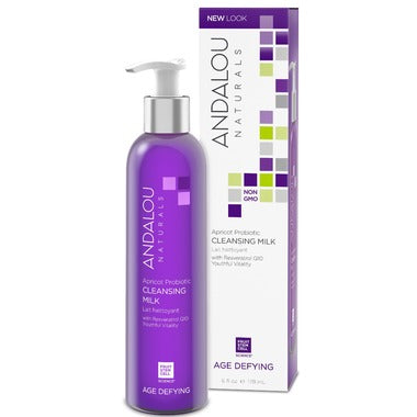 Andalou Apricot Probiotic Cleansing Milk  178ml For Dry & Sensitive Skin - 178 ml