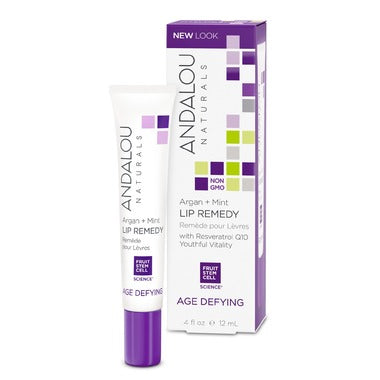 Andalou Naturals Age Defying Argan + Mint Lip Remedy 12ml