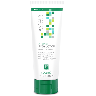 Andalou Naturals Aloe Mint Cooling Body Lotion- 236ml