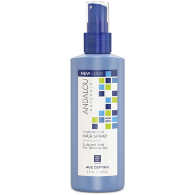 Andalou Naturals Argan Stem Cells Hair Spray -178ml