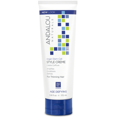 Andalou Naturals Argan  stem Cells Style Creme-172ml