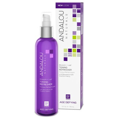 Andalou Naturals Blossom & Leaf Toning Refresher  For Dry & Sensitive Skin 178ml