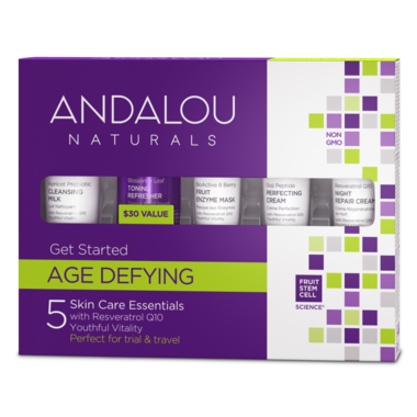 Andalou Naturals Get Started Age Defying  Kit 5pcs