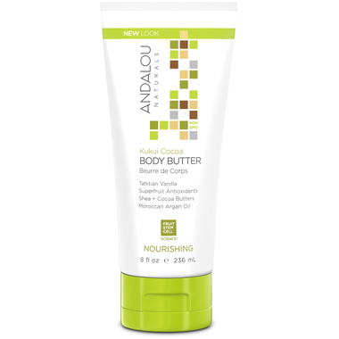 Andalou Naturals Kukui Cocoa  Body Butter 236ml