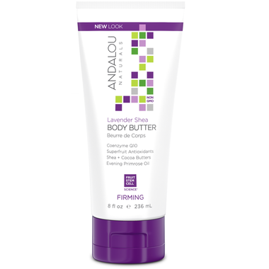Andalou Naturals Lavender Shea  Body Butter-236ml