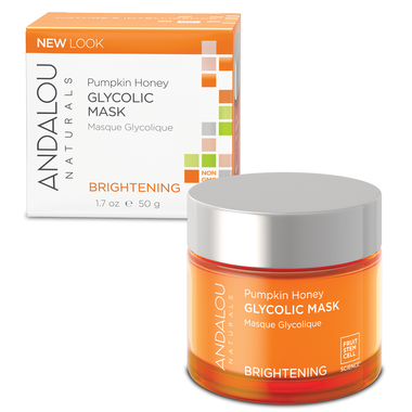 Andalou Naturals Pumpkin Glycolic Brightening Mask 50ml