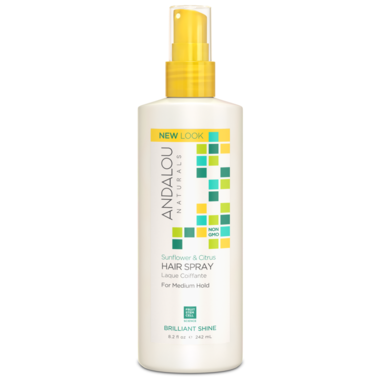 Andalou Naturals Sunflower Citrus Perfect Hold Hair Spray-242ml
