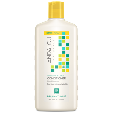 Andalou Naturals Sunflower Citrus  Shine Conditioner- 340ml