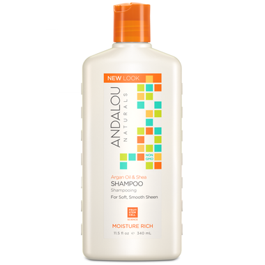 Andalou Naturals Sweet Orange Argan Moisture Shampoo - 340ML