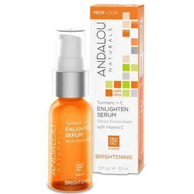 Andalou Naturals Turmeric + C Enlighten Serum For Normal & Combination Skin - 32 ml