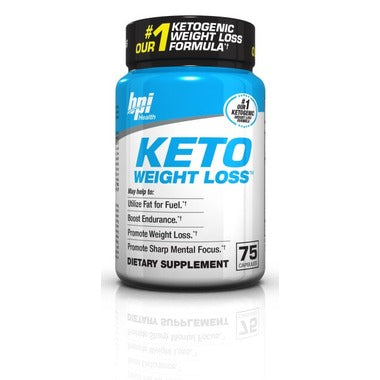 BPI Sports Keto Weight Loss 75 Count