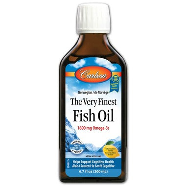 Carlson The Very Finest Fish Oil Lemon Small - 200 ml