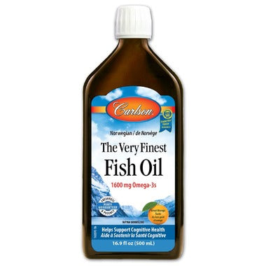 Carlson The Very Finest Fish Oil Orange Large - 500ml