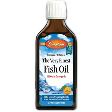 Carlson The Very Finest Fish Oil Orange Small - 200ml