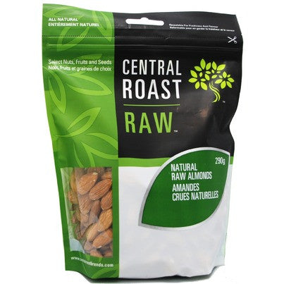 Central Roast Raw Almonds 260g