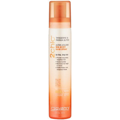 Giovanni Cosmtics 2chic ®UV Tang &Papaya Hair Spray 147ml