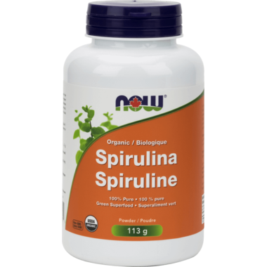 NOW Foods 100% Pure Spirulina Powder - 113 g