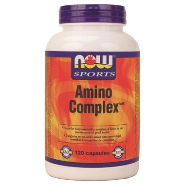 NOW Sports Amino Complex 120 capsules