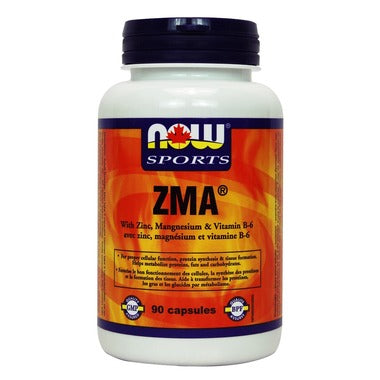 NOW Sports ZMA 800 mg 90 capsules