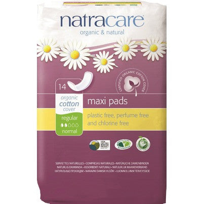 Natural Maxi pad Regular 14 count