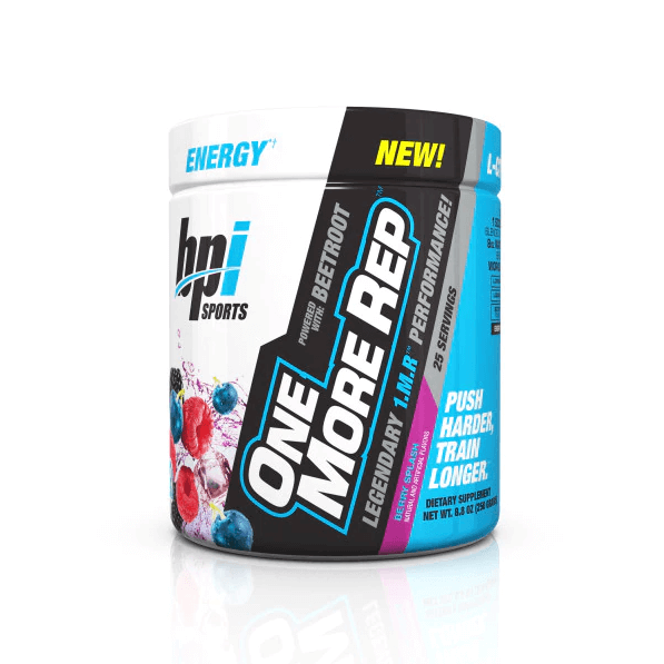 One More Rep - 1.M.R. Formula Pre Workout With Beetroot