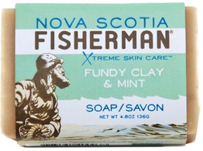 Fundy Clay & Mint Soap