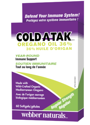 Cold-A-Tak® Oregano Oil 36% 60 softgel