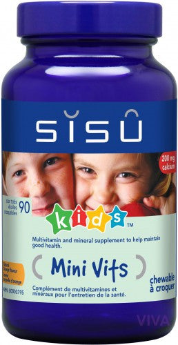 SISU Mini Vits chewable (Kids) - 90 tablets