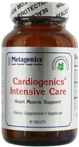 Metagenics Cardiogenics Intensive Care - 90 Tablets