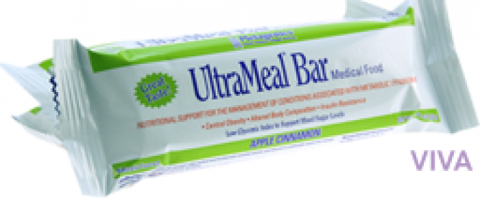 Metagenics UltraMeal Bar Chocolate Raspberry Flavor - 12 x 55 g