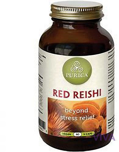 Purica Red Reishi - 60 Capsules