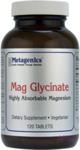 Metagenics Mag Glycinate - 120 Tablets