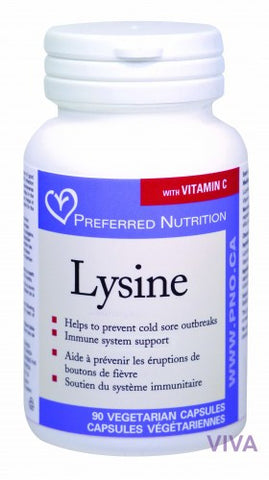 Preferred Nutrition Lysine - 90 vcaps