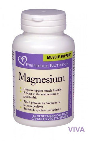 Preferred Nutrition Magnesium - 60 vcaps