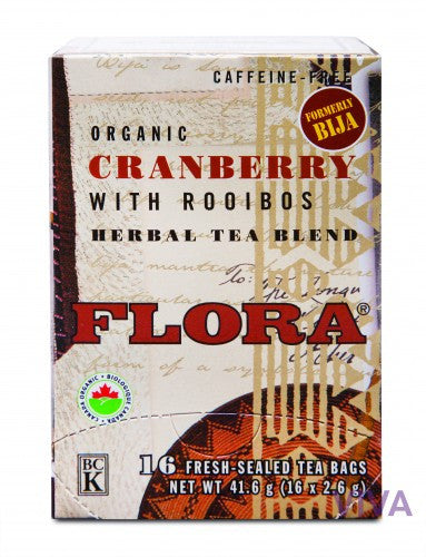 Flora Cranberry with Rooibos Tea - 16 tea bags