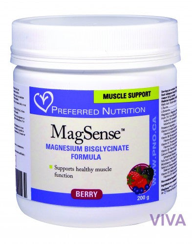 Preferred Nutrition MagSense Berry Flavour Powder - 200 g